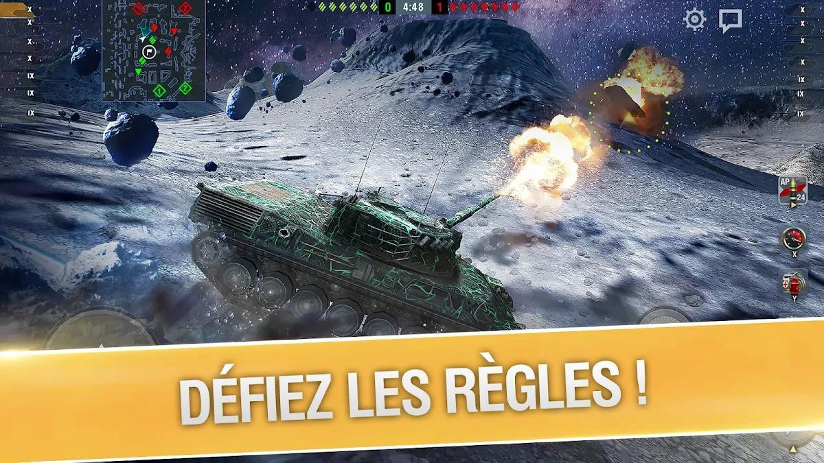 World of Tanks Blitz 3D online  PVP jeu de tank