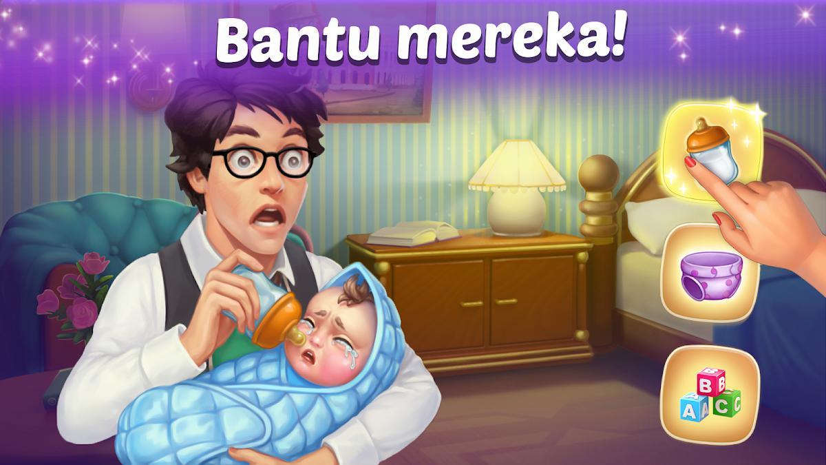 Family Hotel: Renovation & love storymatch-3 game