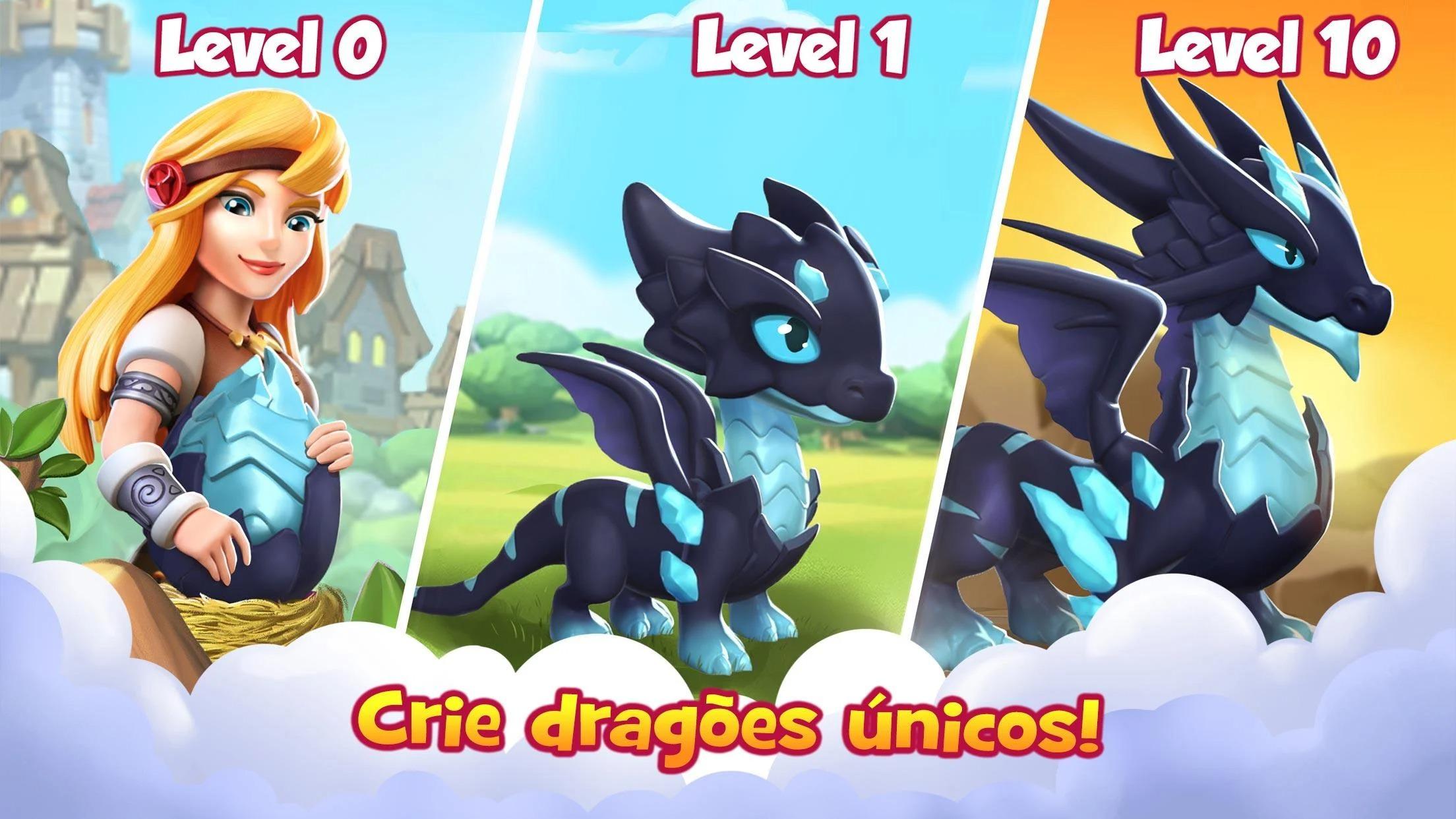 Dragon Mania Legends - Simulador de Dragões