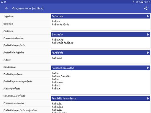 Spanish Dictionary - Offline screenshot 16