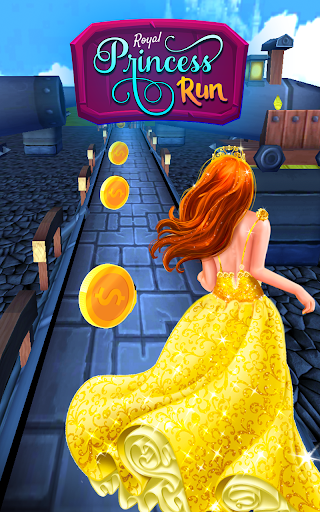 Princess Castle Runner: Endless Running Games 2020 screenshot 1