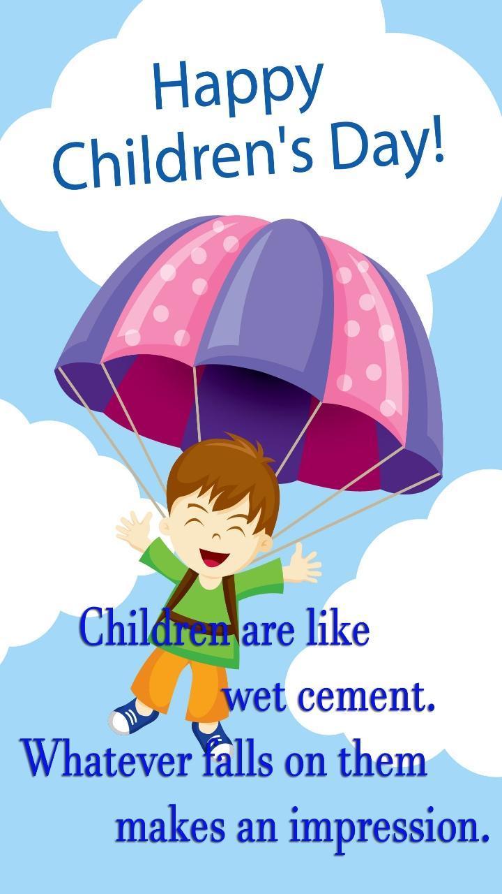 Children day greetings 5 تصوير الشاشة