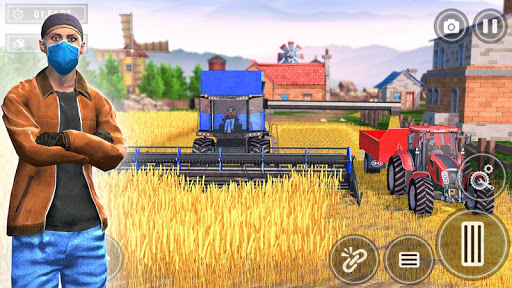 Tractor Farming 2020: ألعاب الزراعة المجانية 2020 2 تصوير الشاشة