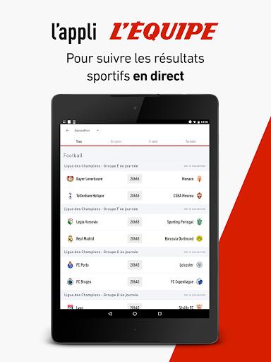 L'Équipe - Sport en direct : foot, tennis, rugby.. screenshot 14