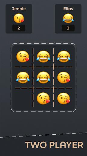 Tic Tac Toe Emoji - Online & Offline 4 تصوير الشاشة
