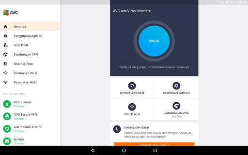 AVG Antivirus Gratis – Pembersih virus Android screenshot 9