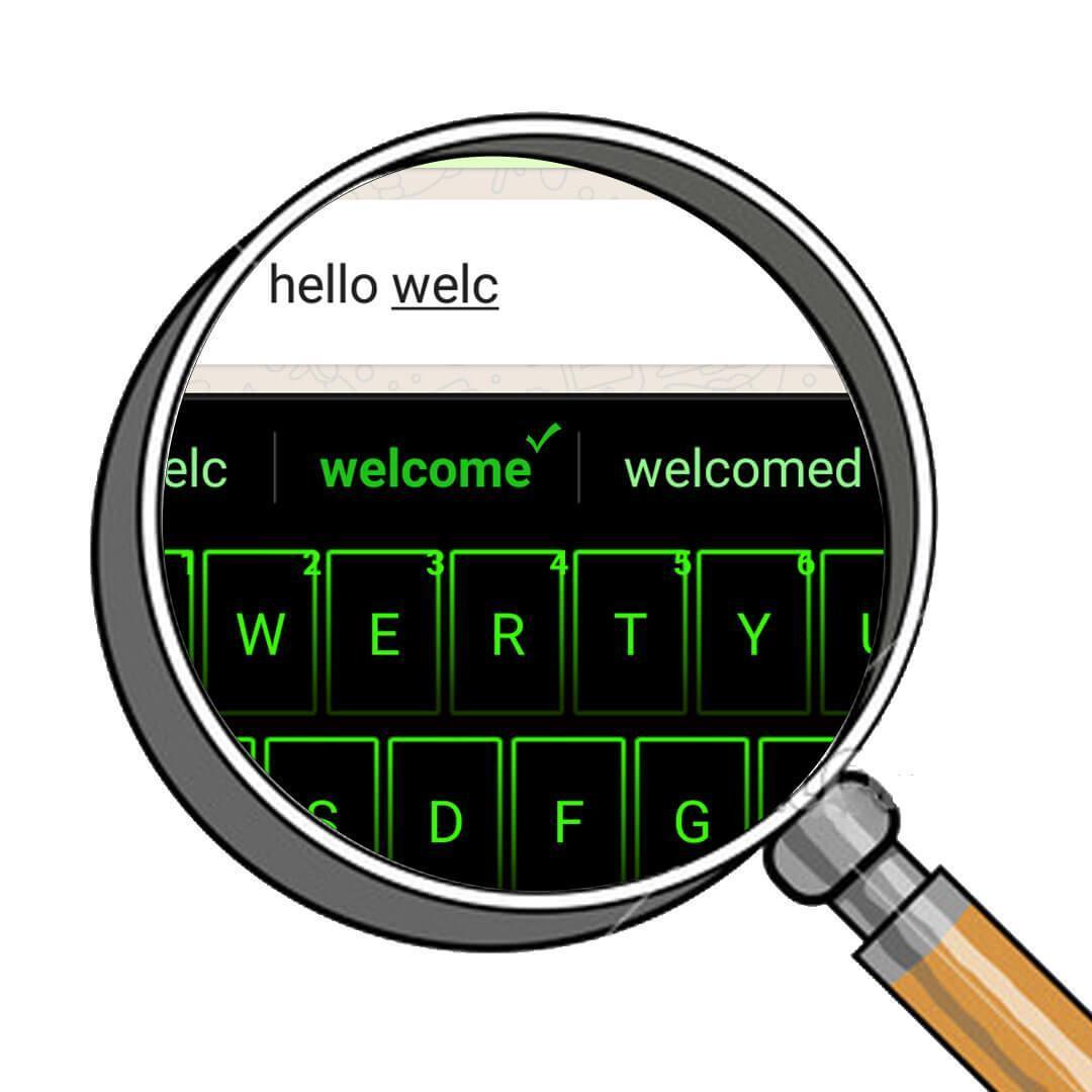 Emoji Neon Matrix Keyboard screenshot 5