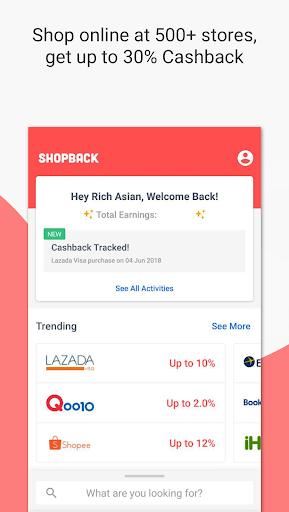ShopBack | Cashback on Shopping & Restaurants screenshot 2