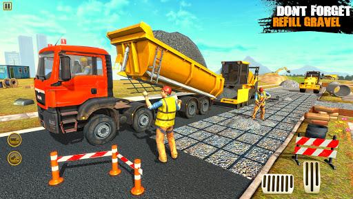 City Road Builder Highway Construction Games 2021 screenshot 2