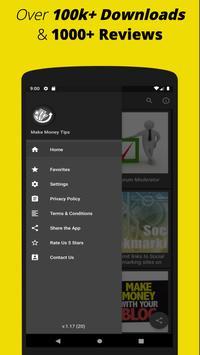 Make Money Online: Free Work from Home Ideas App screenshot 2