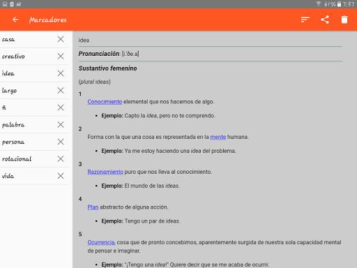Spanish Dictionary - Offline screenshot 18