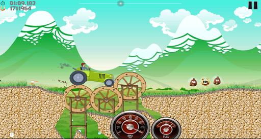 Farm Tractor Racing скриншот 7