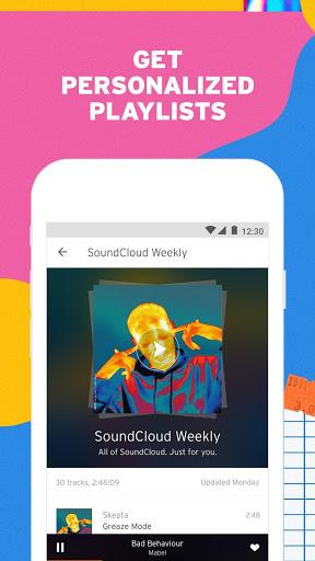 SoundCloud - Play Music, Audio & New Songs 3 تصوير الشاشة