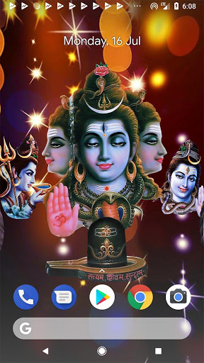 4D Shiv Shankara Live Wallpaper screenshot 2