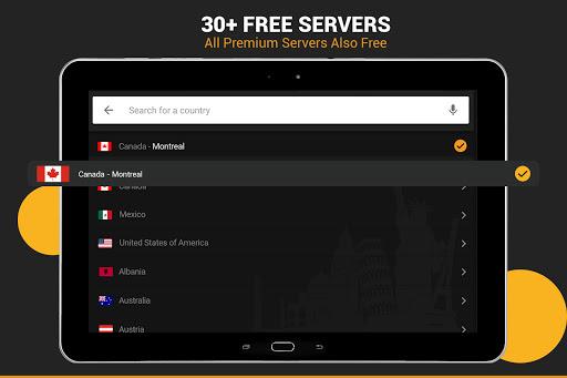 XX VPN - Hot Fast Hotspot & Unlimited Secure Proxy screenshot 6