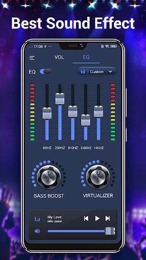 Efek musik Equalizer-Audio screenshot 7