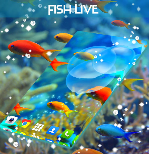 Fish Live Wallpaper Free screenshot 3