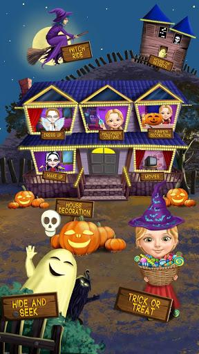 Sweet Baby Girl Halloween Fun screenshot 1