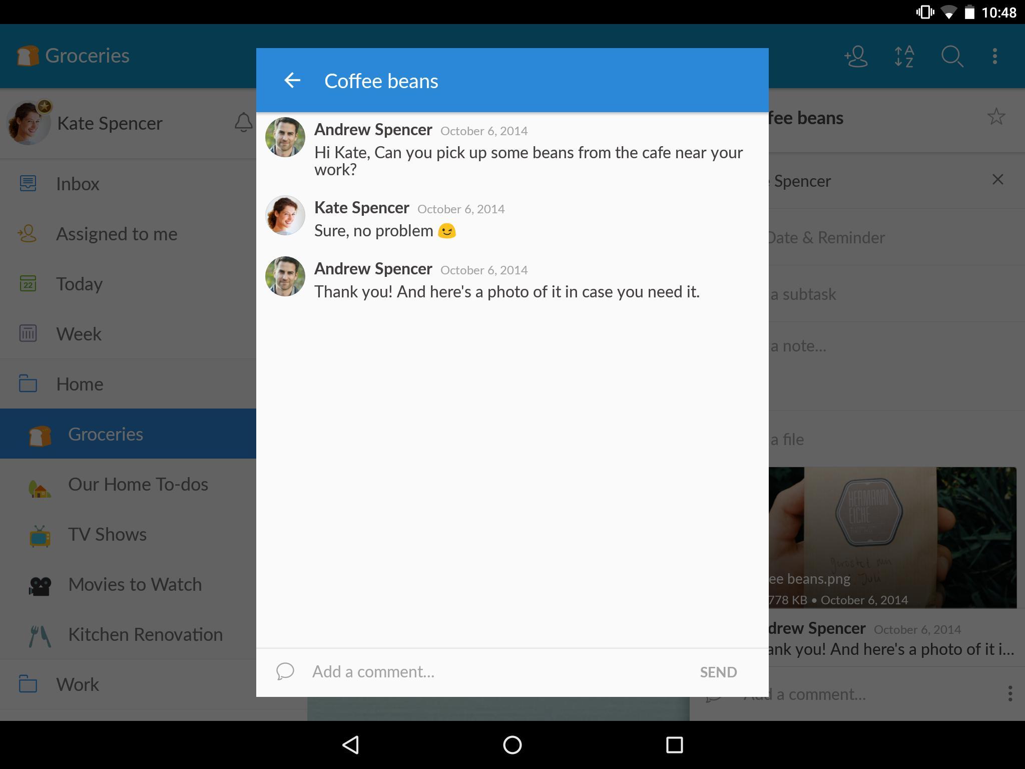 Wunderlist: To-Do List & Tasks 10 تصوير الشاشة