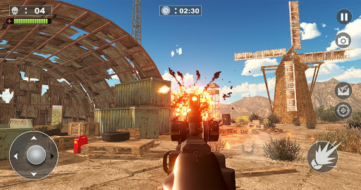 Free Firing Commando - Counter Attack FPS 2019 screenshot 5