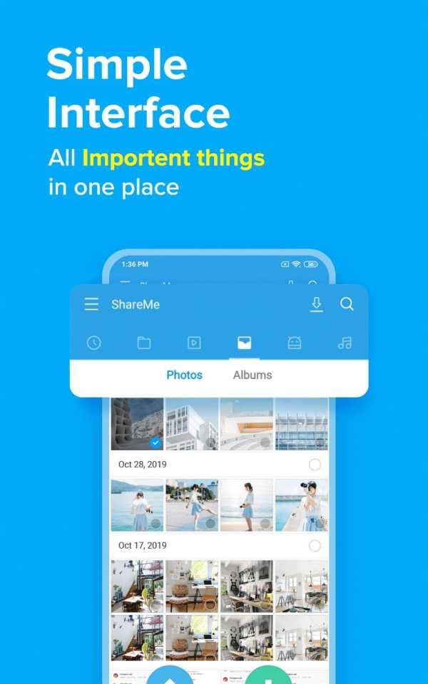 ShareMe (MiDrop) - Transfer files without internet screenshot 5
