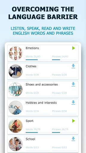 English for Beginners. Learn English for Free screenshot 1