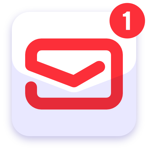 myMail: Email App for Gmail, Hotmail & AOL E-Mail أيقونة