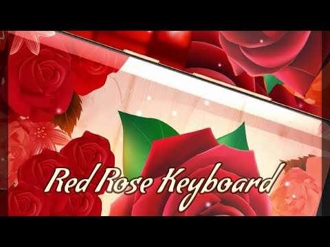 Red Rose Keyboard 2020 screenshot 1