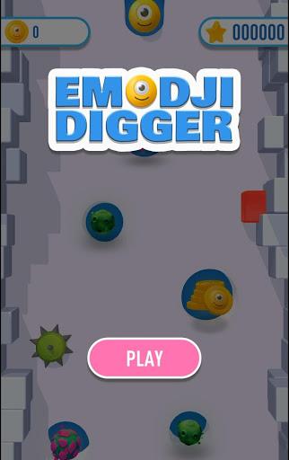 Emoji Digger 1 تصوير الشاشة
