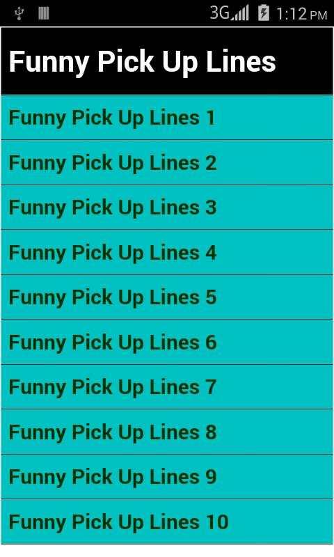 best pick up lines screenshot 2