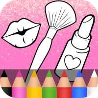 Glitter Beauty Coloring Book ❤ on APKTom