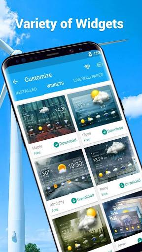 Amber Weather&Radar Free screenshot 7