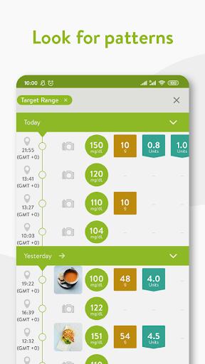 mySugr - Diabetes App & Blood Sugar Tracker screenshot 4