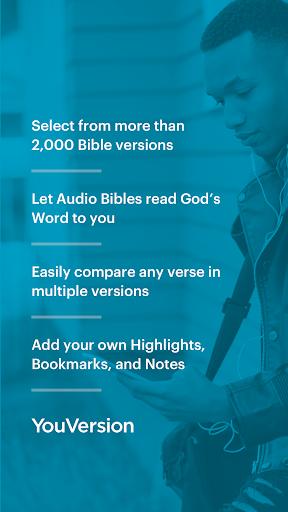 The Bible App Free   Audio, Offline, Daily Study screenshot 1