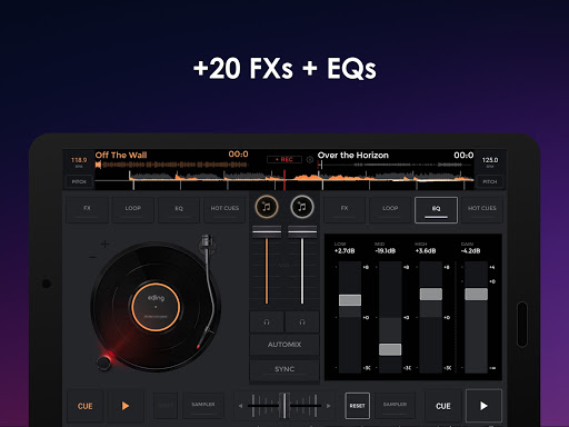 edjing Mix - Free Music DJ app screenshot 9