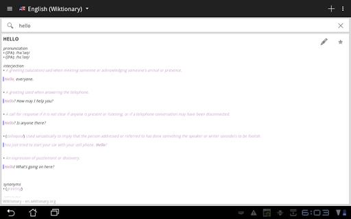 Offline dictionaries screenshot 8