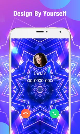 Call Flash - Color Phone Caller Screen, LED Flash 2 تصوير الشاشة