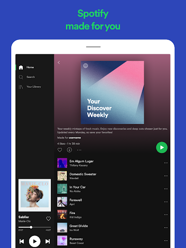 Spotify: Listen to new music and play podcasts screenshot 11