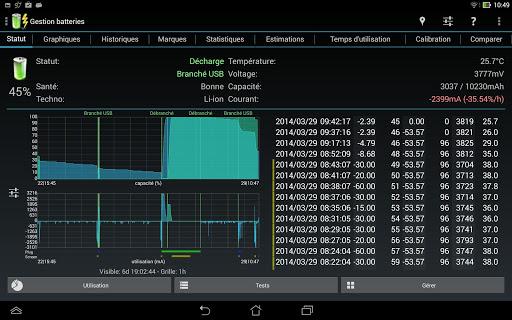 3C Battery Manager 13 تصوير الشاشة