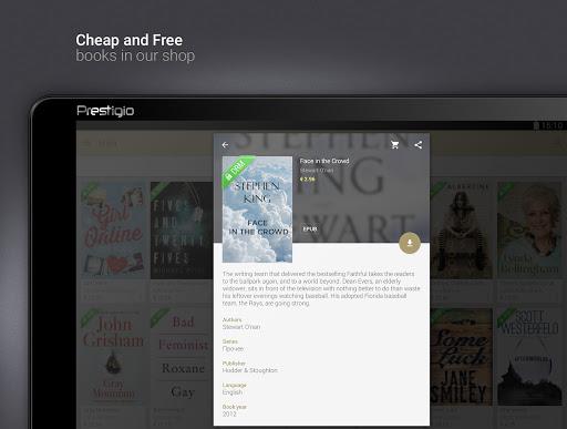 eReader Prestigio: Lettore screenshot 11