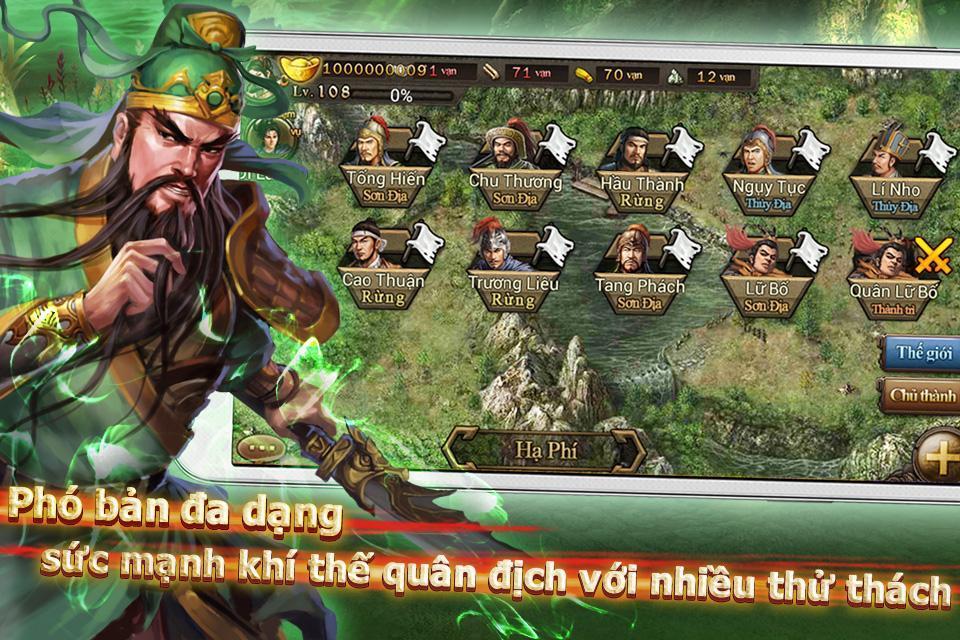 Bá Chủ Tam Quốc – CTXĐ screenshot 7