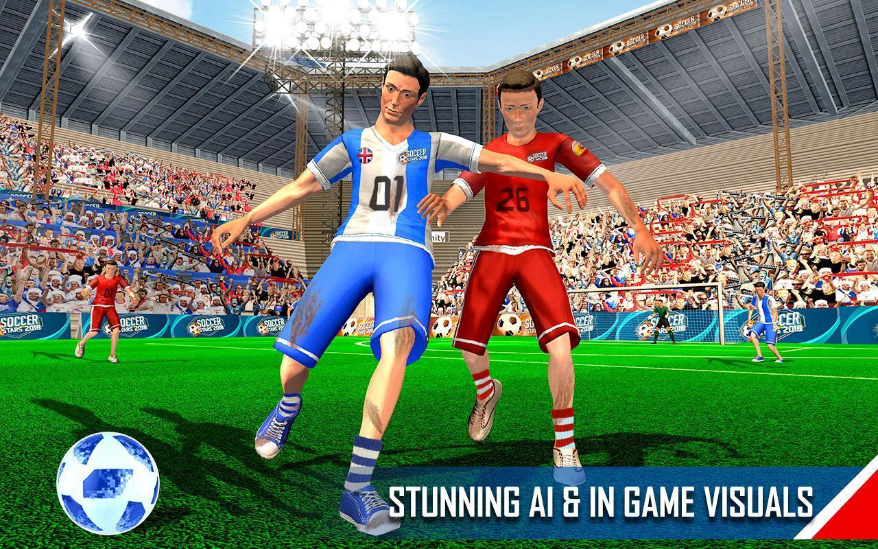 Real Football WC 2018 Dream League Soccer Stars 10 تصوير الشاشة