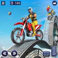 बाइक स्टंट गेम नया गेम - मुफ्त मोटरसाइकिल गेम on 9Apps
