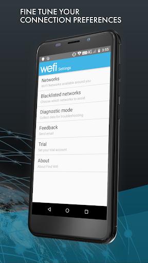 Find Wi-Fi - Automatically Connect to Free Wi-Fi 6 تصوير الشاشة