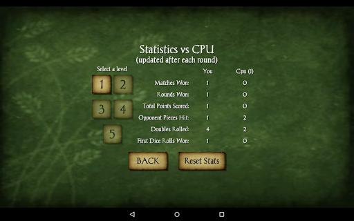 Backgammon Free 24 تصوير الشاشة