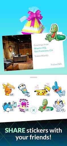 Pokémon GO 7 تصوير الشاشة