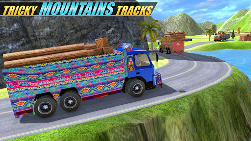 Indian Real Cargo Truck Driver -New Truck Games 21 screenshot 2