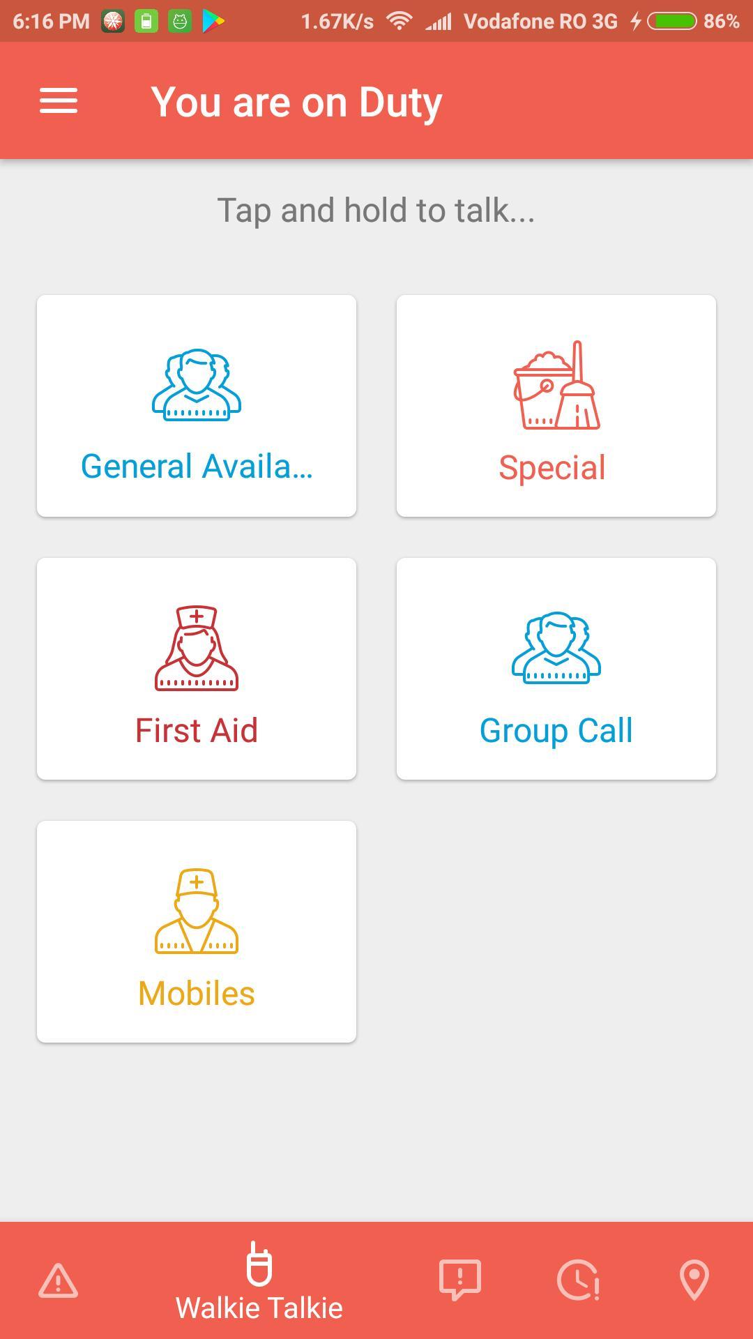 Poltys DCare™ Messenger screenshot 2