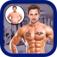 Men Body Styles SixPack tattoo - Photo Editor app on 9Apps