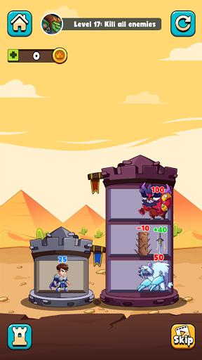 Hero Tower Wars - Merge Puzzle screenshot 3